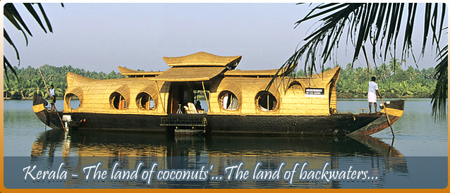 Kerala, The land coconuts and back waters